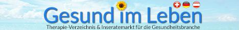 Gesund im Leben - Therapeutenverzeichnis und Inseratemarkt für die Gesundheitsbranche