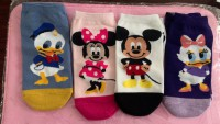 4er Set Socken Disney Mickey Minnie Donald Daisy (sofort lieferbar)